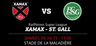 NEUCHÂTEL XAMAX FCS vs FC ST. GALLEN 1879