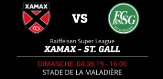 NEUCHÂTEL XAMAX FCS vs FC ST. GALL 1879