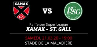 NEUCHÂTEL XAMAX FCS vs FC ST. GALL