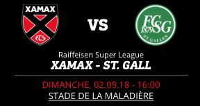 NEUCHÂTEL XAMAX FC ST-GALL
