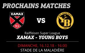 NEUCHÂTEL XAMAX FCS vs BSC YOUNG BOYS