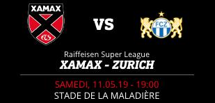 NEUCHÂTEL XAMAX FCS vs FC ZURICH