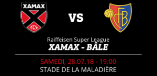 NEUCHÂTEL XAMAX FCS vs FC BÂLE 1893