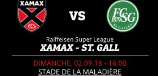 NEUCHÂTEL XAMAX FCS vs FC ST-GALL