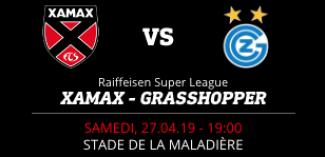 NEUCHÂTEL XAMAX FCS vs GRASSHOPPER CLUB