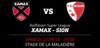 NEUCHÂTEL XAMAX FCS vs FC SION