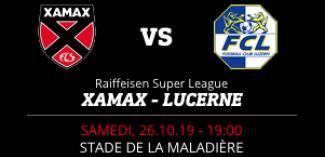 NEUCHÂTEL XAMAX FCS vs FC LUCERNE