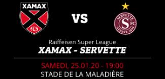 NEUCHÂTEL XAMAX FCS vs FC SERVETTE