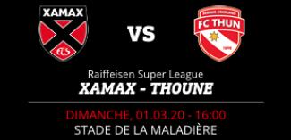 NEUCHÂTEL XAMAX FCS vs FC THOUNE