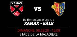NEUCHÂTEL XAMAX FCS vs FC BÂLE